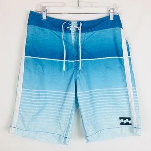 Billabong Men's Tie Board Shorts Trunks Size 30